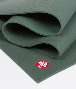 Manduka Pro Long Black Sage 216x66 cm 6mm