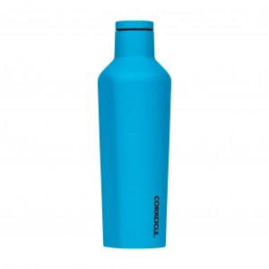 Butelka Termiczna Termos Corkcicle Neo Lights Blue 475 ml