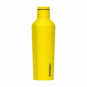 Butelka Termiczna Termos Corkcicle Neo Lights Yellow 475 ml